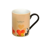 Кофейная кружка желтая Berghoff 3800012 Lover by lover (2х)