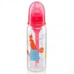 Бутылочка Happy Baby Baby антиколиковая с силиконовой соской 250мл 10015 Ruby