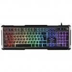 Клавиатура проводная игровая Defender Chimera GK-280DL, ENG/RUS, USB, RGB подсветка, 9 режимов. НОВИНКА!