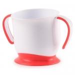Кружка Happy Baby на присоске Baby cup with suction base Ruby