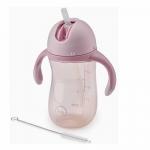 Поильник с трубочкой и ручками Happy Baby Straw Feeding Cup 2.0 Lilac
