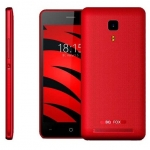 "Смартфон BQ-4526 Fox Black 4.5""/854x480FWVGA/SC7731C, 4 ядра/1Gb+8Gb/5+2MP/1500 мА/3G /"